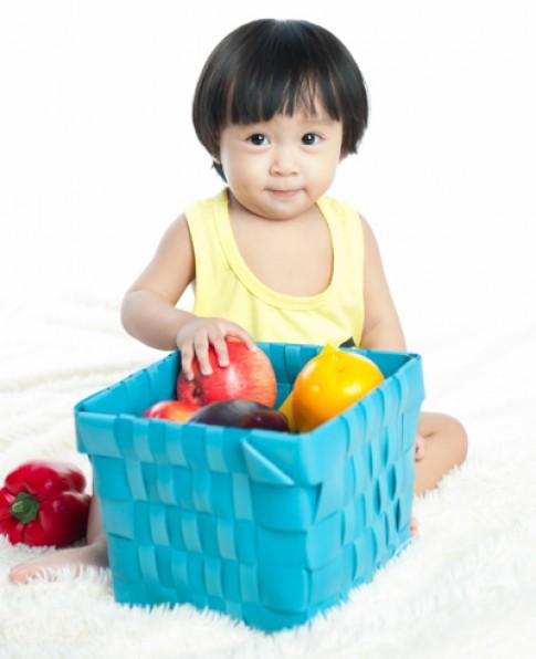 Nhiều bà mẹ chưa biết lượng rau củ quả trẻ cần