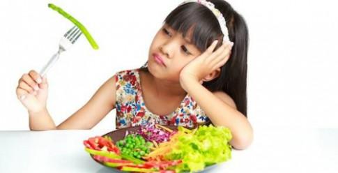 Nhiều trẻ biếng ăn vì thiếu rau