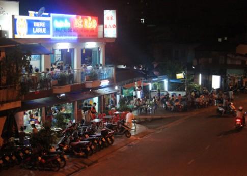 Những con đường nhậu đêm nổi tiếng ở Sài Gòn