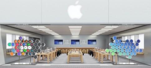 Những màn hình lớn dành riêng Apple Watch sẽ xuất hiện ở các Apple Store