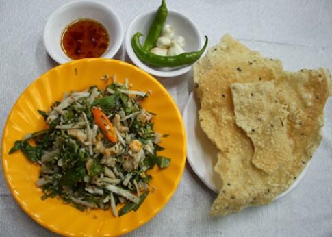 Những món gỏi ngon miền Trung