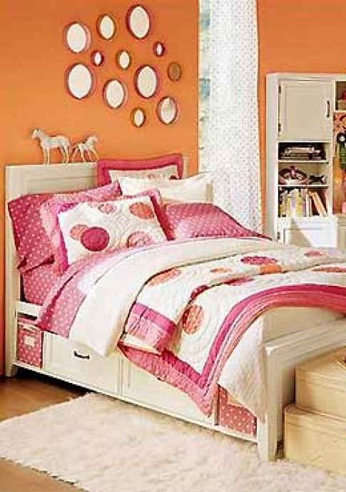 Những phòng ngủ nữ tính