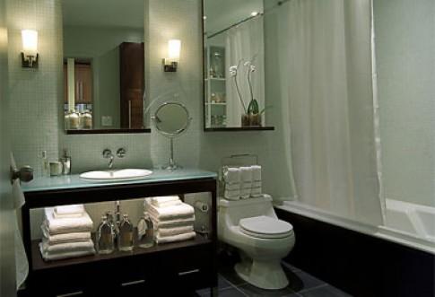 Những phòng tắm sạch và sang