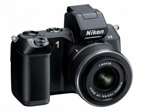 Nikon 1 V2 'lột xác' với kiểu dáng chuyên nghiệp hơn