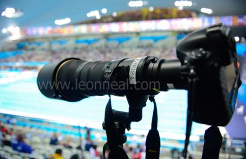 Nikon 800 mm f/5.6 bất ngờ được dùng tại Olympic