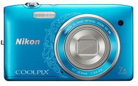 Nikon Coolpix S3500, compact zoom xa, đa sắc màu