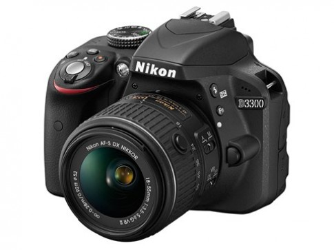 Nikon D3300 ra mắt với cảm biến, chip xử lý hoàn toàn mới