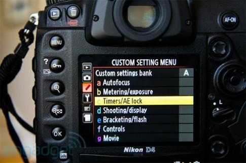 Nikon D4 có bản firmware mới