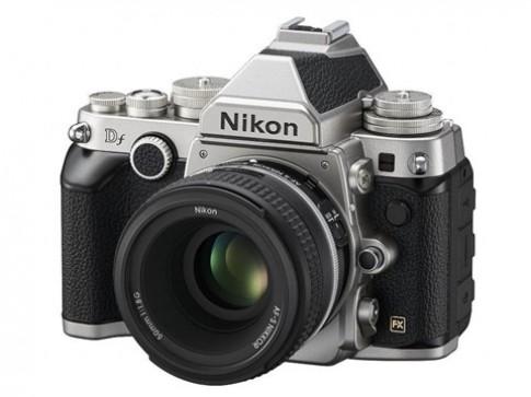 Nikon Df dáng cổ điển và cảm biến full-frame trình làng