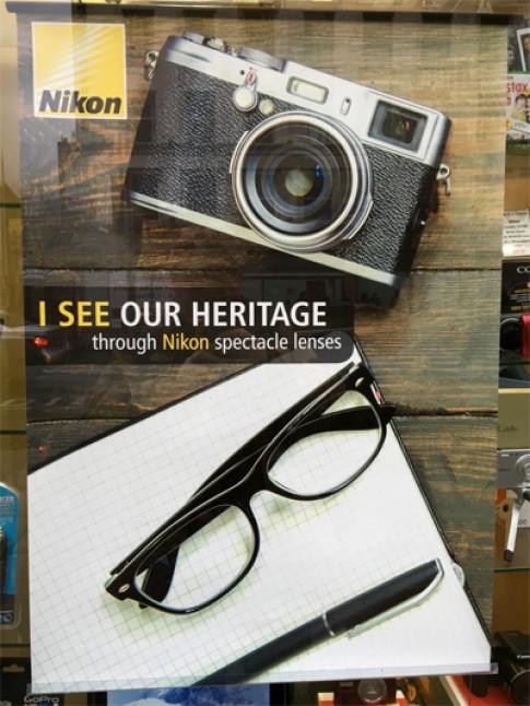 Nikon dùng nhầm máy ảnh Fujifilm để quảng cáo