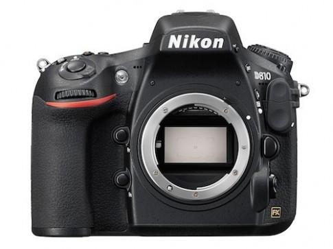 Nikon giới thiệu D810 với dải ISO siêu rộng
