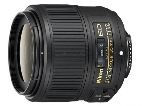 Nikon gioi thieu ong kinh 35 mm f18 cho may full-frame