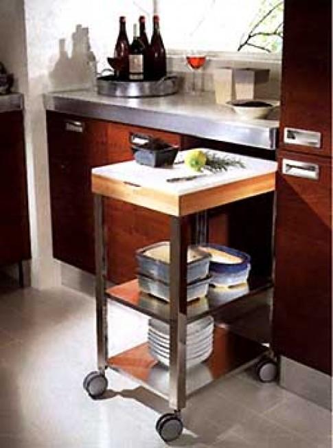 Nới rộng không gian bếp