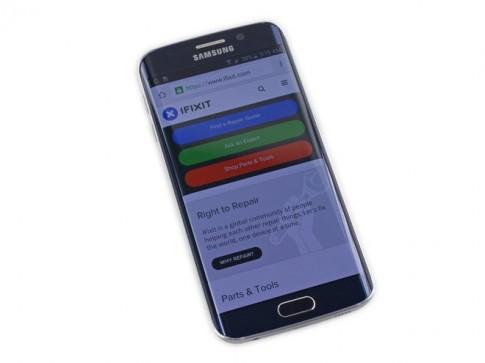 """""""Nội thất"""" bên trong siêu phẩm Samsung Galaxy S6 Edge"""