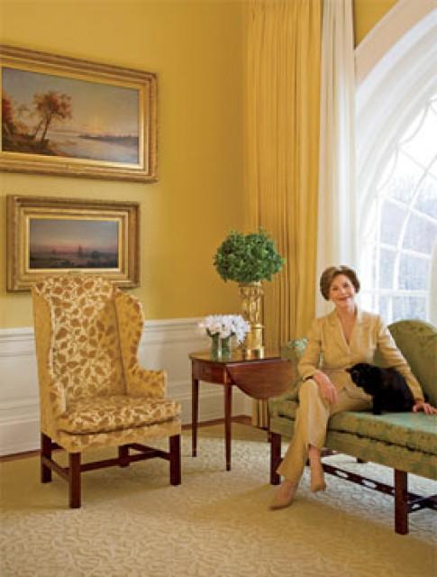 Nội thất Nhà Trắng các đời Tổng thống