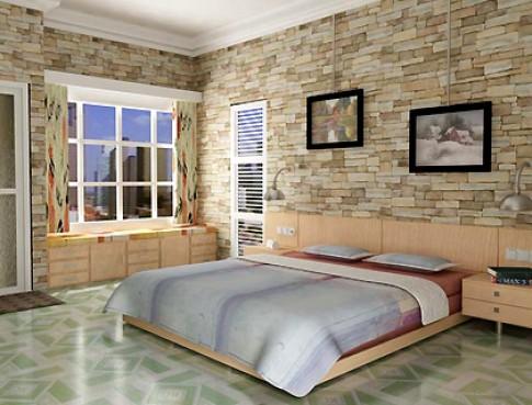 Nội thất phòng ngủ 'thấp sàn'