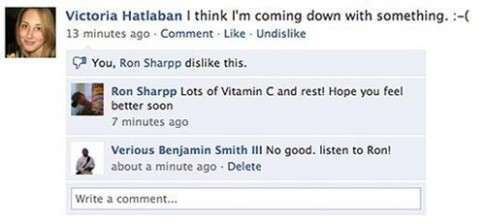 Nút Dislike sẽ không bao giờ xuất hiện trên Facebook