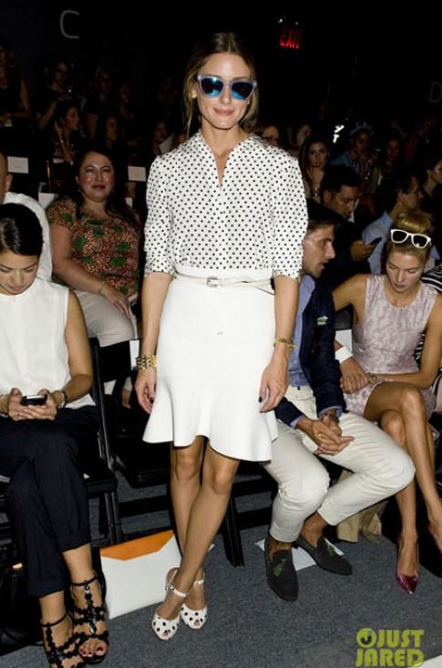 Olivia Palermo - 'nữ hoàng' hàng ghế đầu