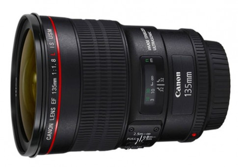 Ống Canon 135mm f/1.8L IS có thể sắp ra mắt