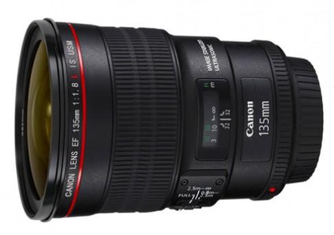 Ống Canon 135mm f/1.8L IS có thể sắp ra mắt