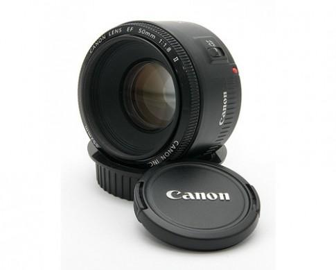 Ống kính Canon 50 mm f/1.8 sắp thêm bản có chống rung