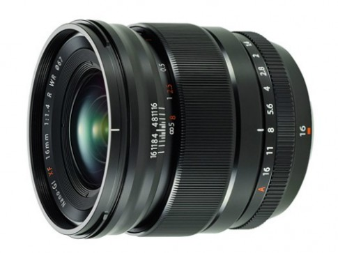 Ống kính Fujifilm 16 mm f/1.4 có giá 1.000 USD