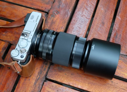 Ống kính Fujifilm 55-200 mm và 27 mm f/2.8 có mặt ở VN