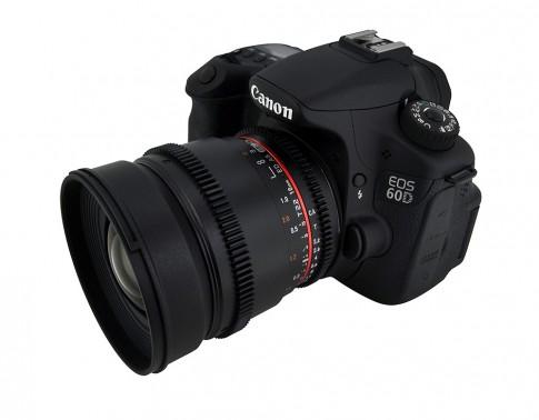 Ống kính góc rộng Rokinon 16 mm f/2.2 cho máy Canon, Nikon