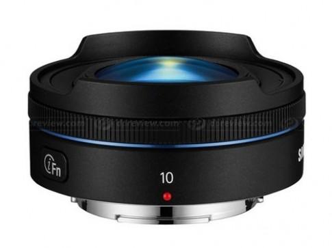 Ống kính 'mắt cá' nặng chỉ 71 gram cho máy Samsung NX
