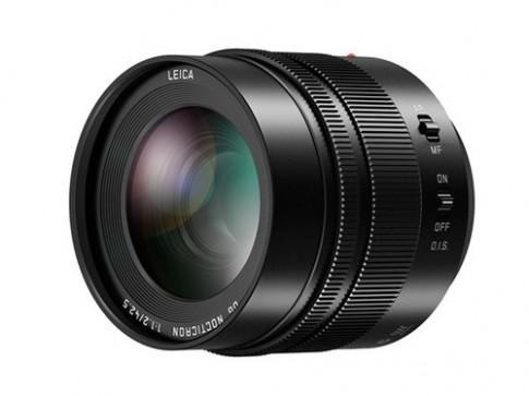 Ống kính siêu nhanh f/1.2 cho máy ảnh Micro Four Thirds