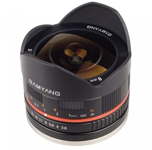 Ống 'mắt cá' cho Fujifilm X-Pro1