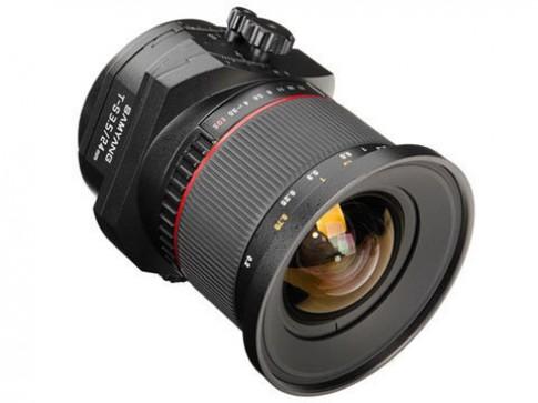 Ống tilt-shift của Samyang giá rẻ hơn một nửa so với Canon