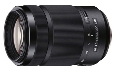 Ống zoom 55-300 mm giá rẻ cho máy Sony Alpha