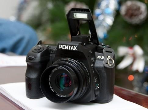 Pentax K-3 về VN với giá 27,5 triệu đồng