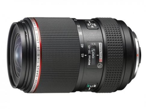 Pentax thêm ống kính 28-45 mm cho máy medium-format
