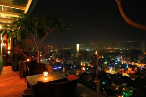 Phong cách mới lạ của bar nhà hàng The Rooftop