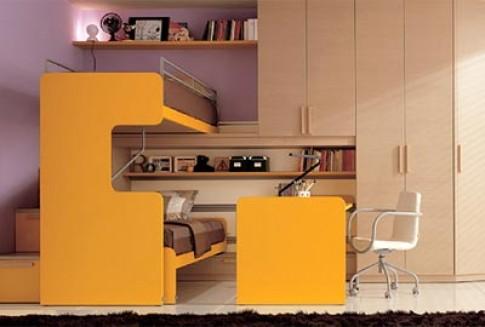 Phòng ngủ 'công nghiệp' cho trẻ