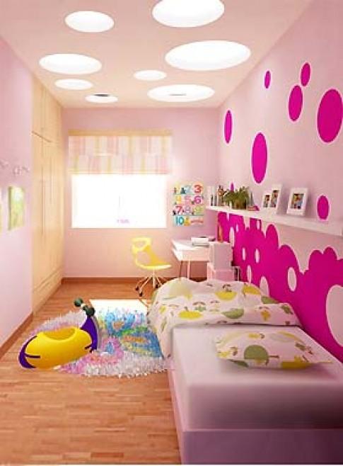 Phòng ngủ trẻ em trong chung cư