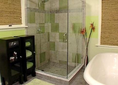 Phòng tắm nhỏ đầy đủ tiện nghi