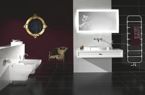 Phòng tắm phong cách châu Âu