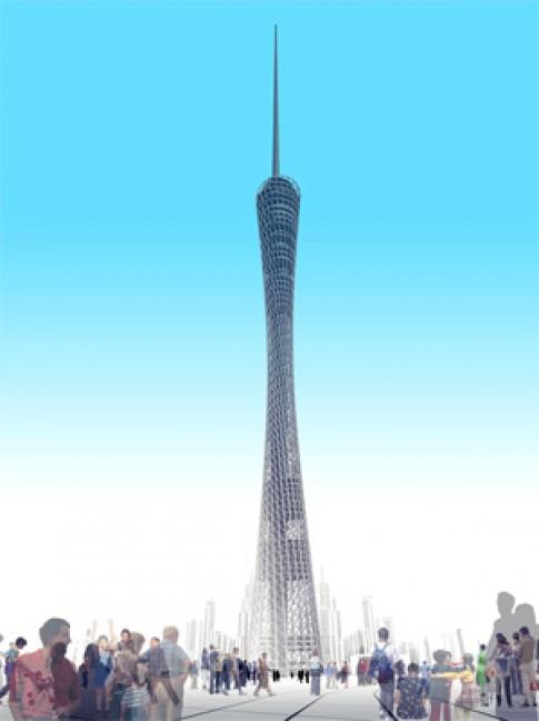 Quảng Châu có tòa nhà chọc trời mới
