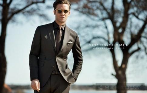 Quý ông thời trang và lịch lãm với bst suit của Rose