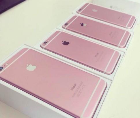 Rò rỉ hàng loạt iPhone 6s / 6s Plus màu hồng
