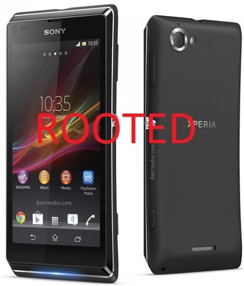 Root Sony Xperia L C2104 đơn giản trong vài bước