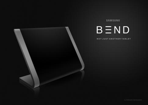 Samsung Bend - Khi Samsung phối hợp cùng Apple