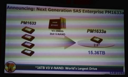 Samsung giới thiệu SSD dung lượng lớn nhất thế giới 16TB