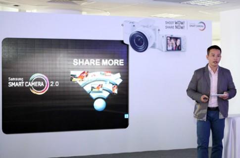 Samsung NX1000 bắt đầu bán, giá 17 triệu đồng
