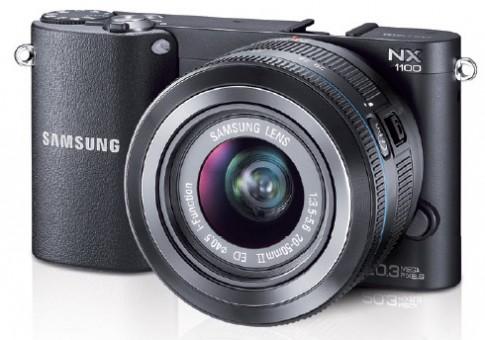 Samsung NX1100 chưa ra mắt đã cho đặt hàng