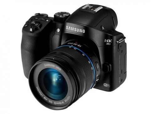 Samsung NX30 trình làng với kính ngắm có thể kéo lật