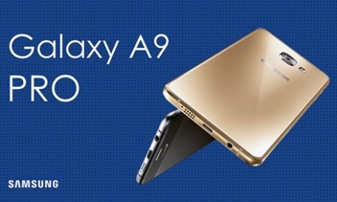 Samsung ra Galaxy A9 Pro màn hình 6 inch, pin dùng 3 ngày